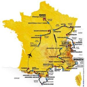 Tour de France course