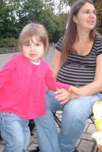 Maia with Anya