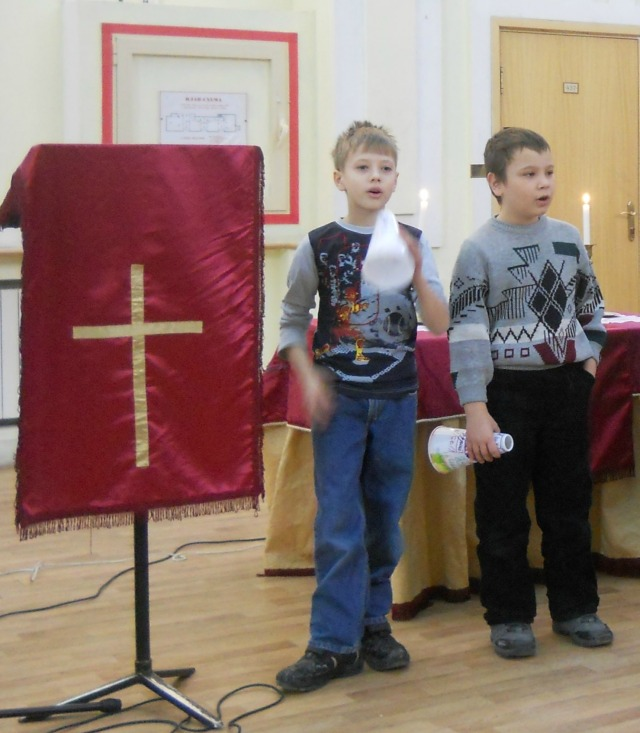 Vanya and Bogdan catechism